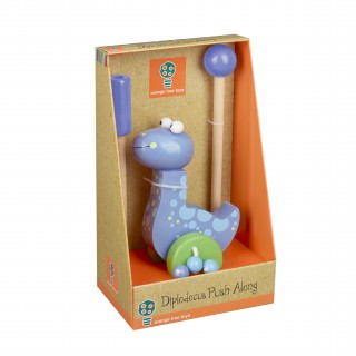 Diplodocus Push Along (Boxed)