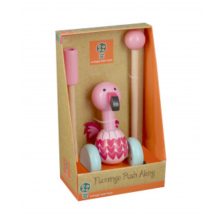 Flamingo Push Along (Boxed)