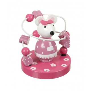 Pink Mouse Bead Frame