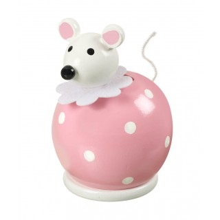 Pink Mouse Money Box
