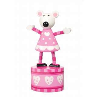 Pink Mouse Push Up
