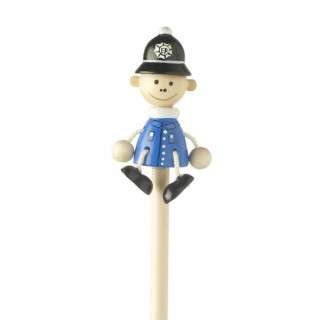 Blue Policeman Pencil