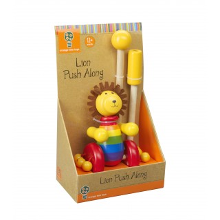 Lion Push Along (Boxed)