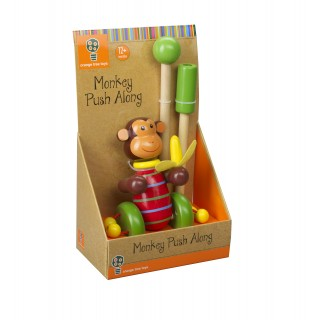 Monkey Push Along (Boxed)