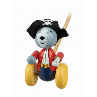 Pirate Dog Push Along (Boxed)