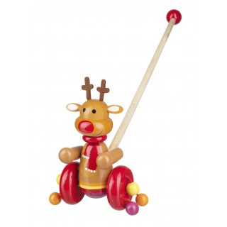 Reindeer Push Along