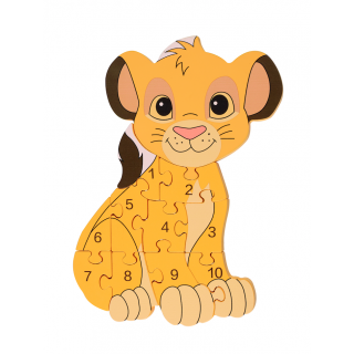 COMING SOON - Simba Number Puzzle
