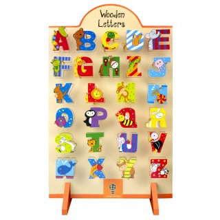 Mixed Pack of 216 Alphabet Letters (with free stand)
