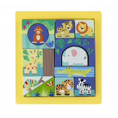 Jungle Animals Block Puzzle
