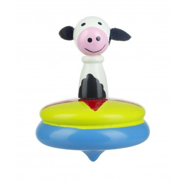 Cow Spinning Top