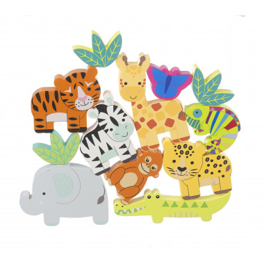 Stacking Jungle Animals