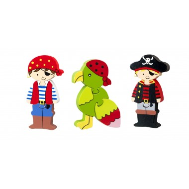 Pirate Mini Puzzle Set