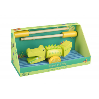 Crocodile Push Along (boxed)
