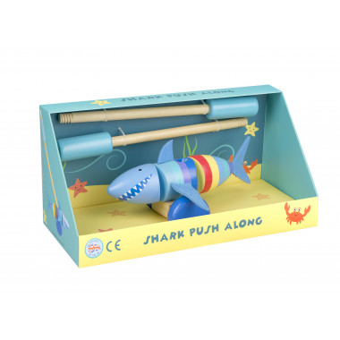 Shark Push Along (boxed)