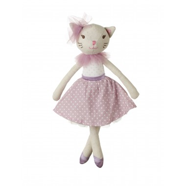 White Cat Doll (small)