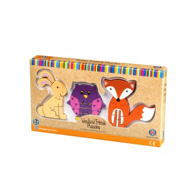 Woodland Mini Puzzle Set