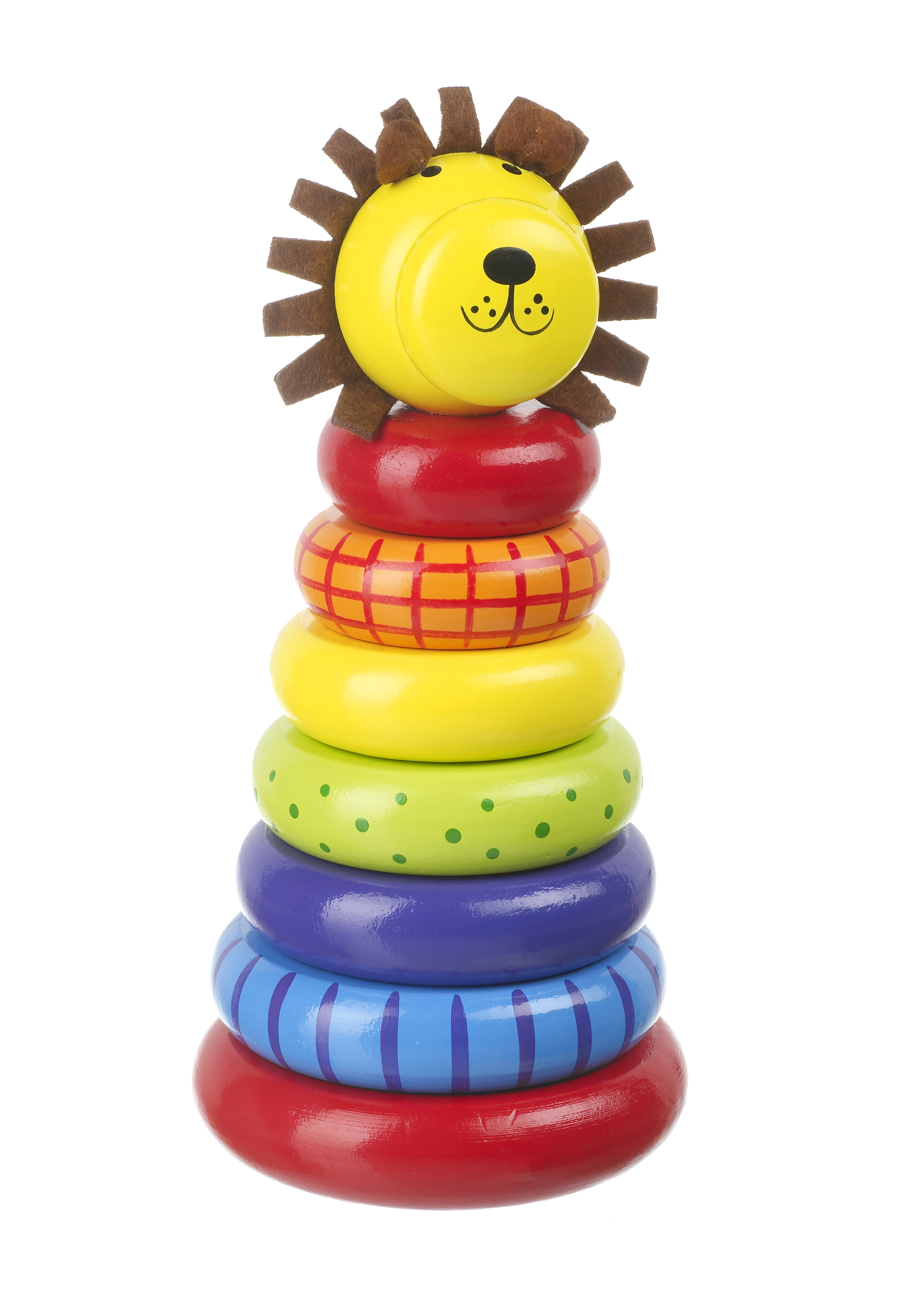 Stacking rings toys